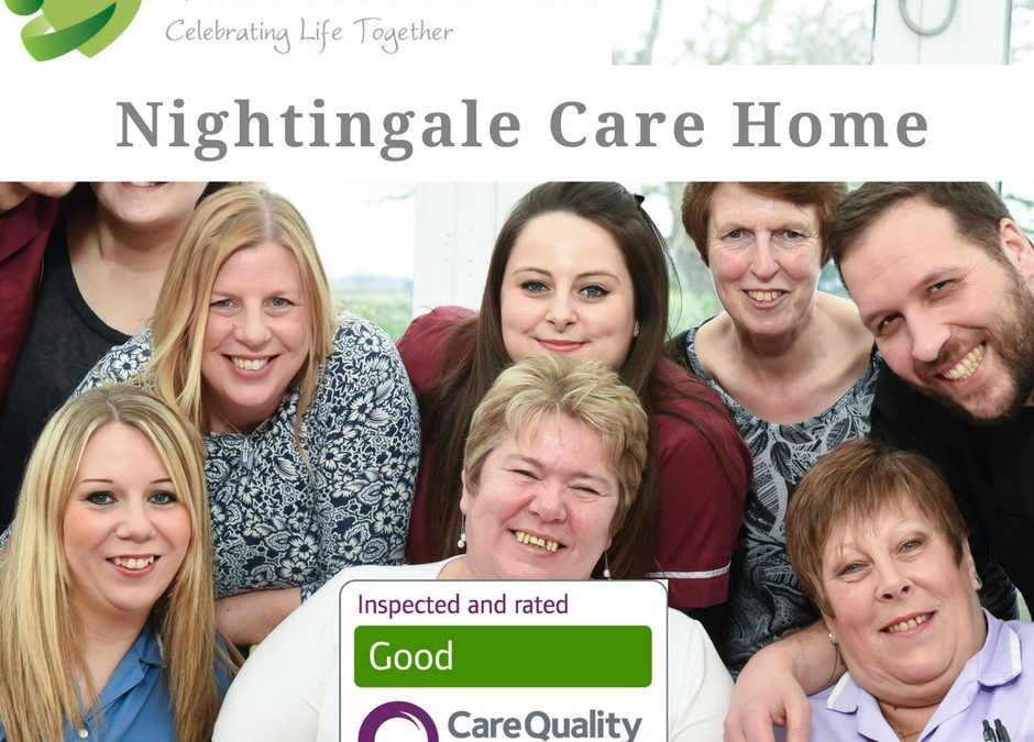 "Nightingale Care Home receives ""GOOD"" in all areas"